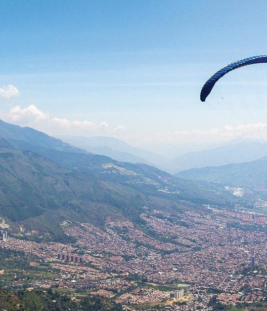 Paragliging Tour Medellin